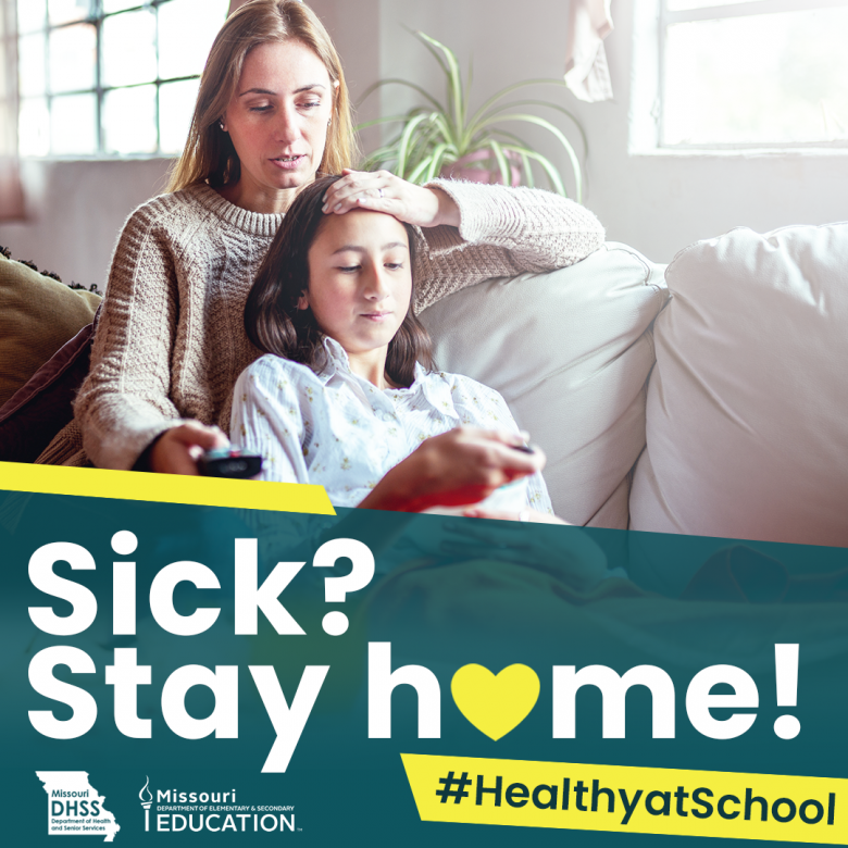 Sick? Stay home!