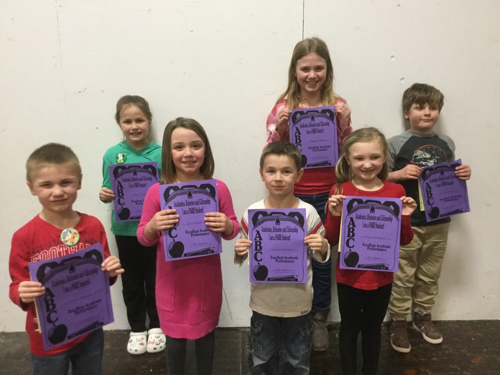 January Academic Award Winners