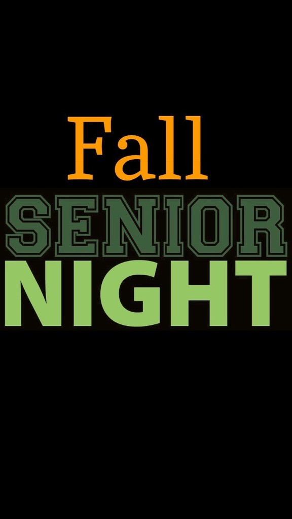 Fall Senior Night