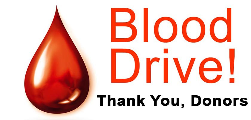 Blood Drive Thank You